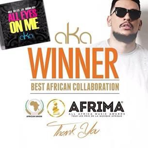 AKA Wins An AFRIMA Award