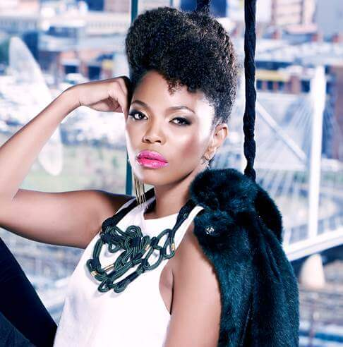 South African celebrities AYANDA film