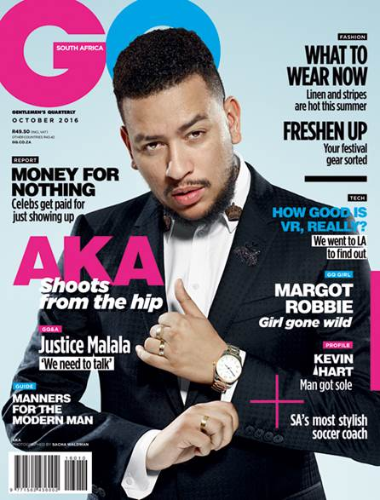 AKA - GQ South Africa Magazine
