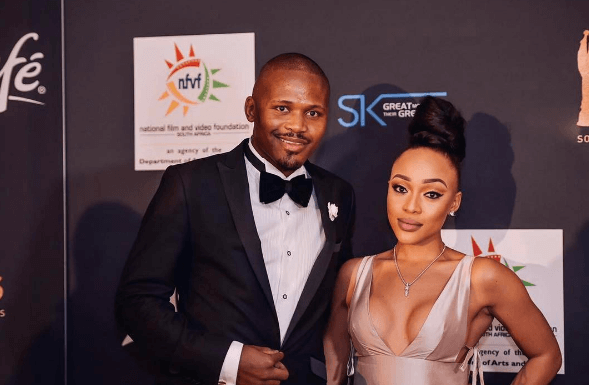 Thando Thabethe and boyfriend Frans
