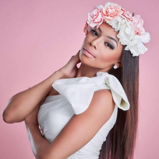 Bonang-Matheba-flower-crown