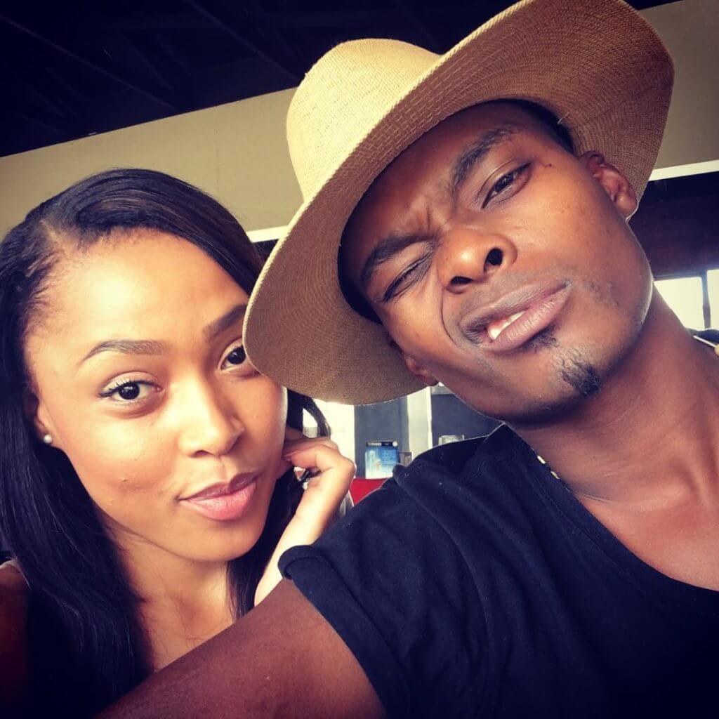 Simphiwe Ngema and Dumi