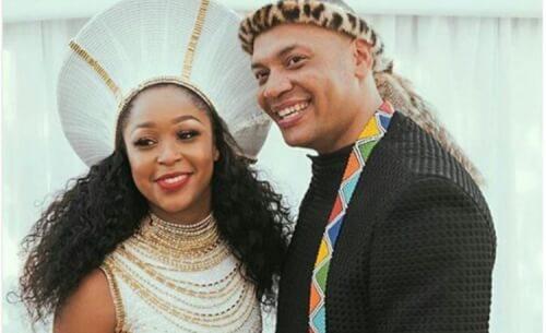 Minnie Dlamini Jones Wedding