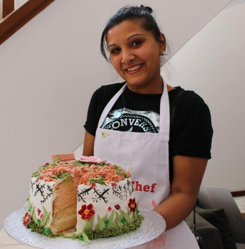 Nafisa Saleh crowned winner of Capsicum Culinary Studio