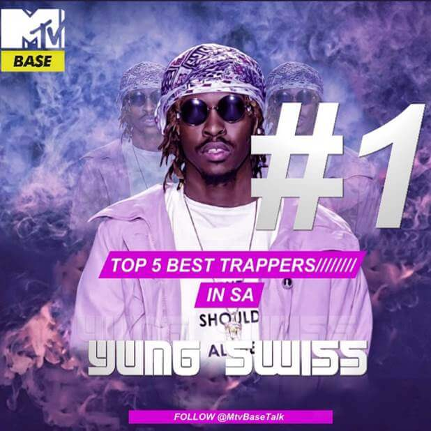 MTV Base's Top 5 list of 2017 Best Trappers in SA