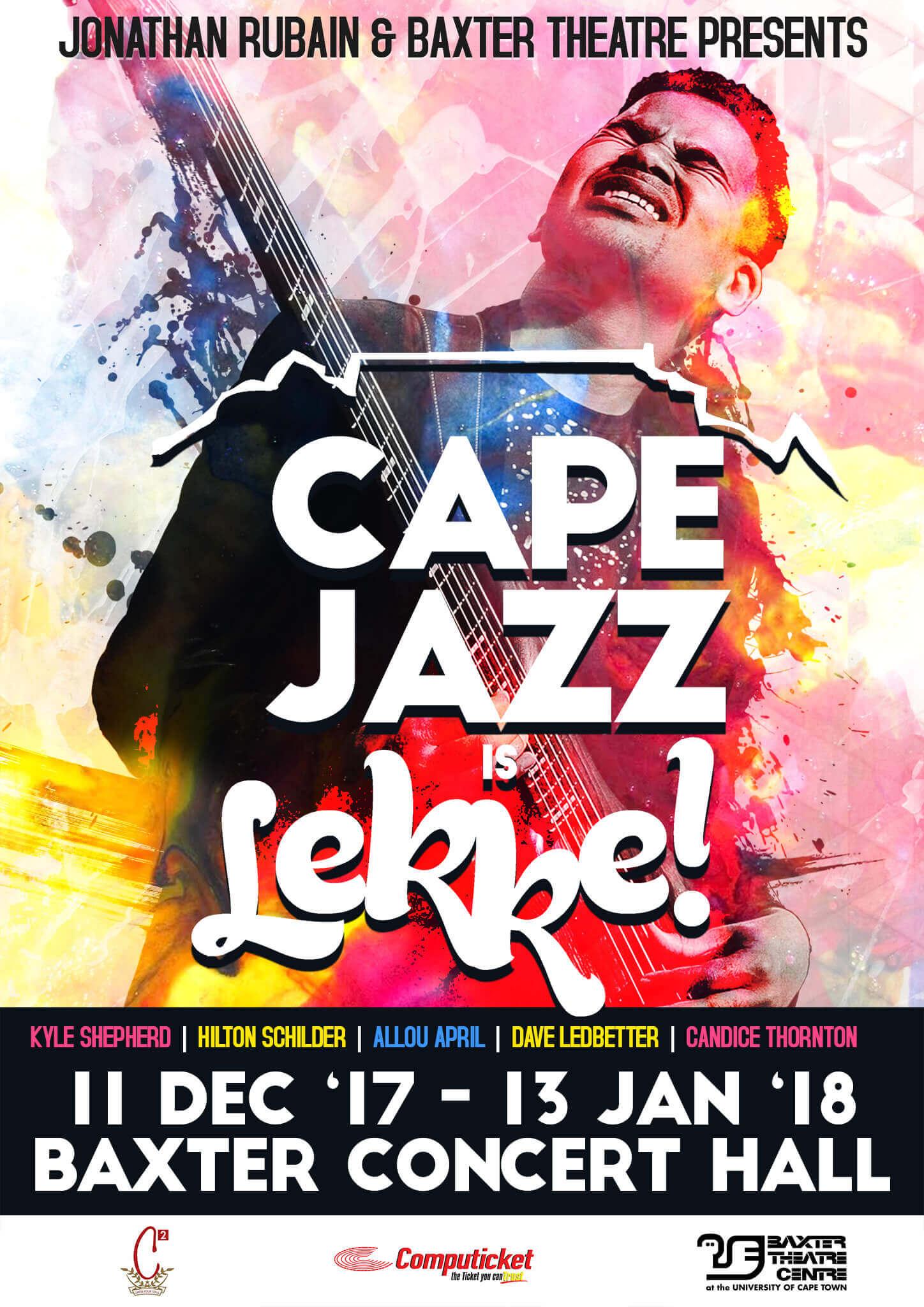 Jonathan Rubain - Cape Jazz Poster web (1)