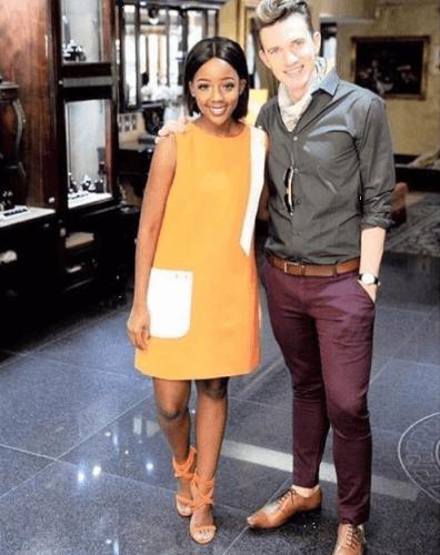 Thuso Mbedu 2017 International Emmy Awards