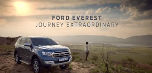 Ford Everest TVC Tresor