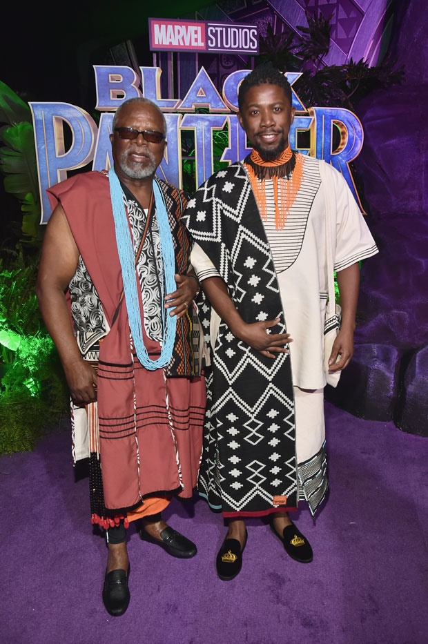 Atandwa Kani and John Kani Black Panther