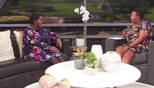 Minister of Social Development Bathabile Dlamini on Real Talk with Anele
