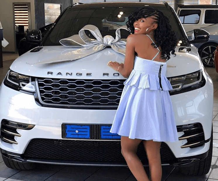 Thembi Seete buys herself a R760k Range Rover