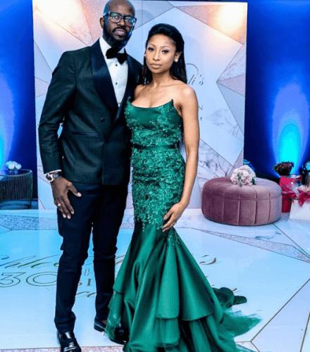 Enhle Mbali Maphumulo celebrates her 30th birthday