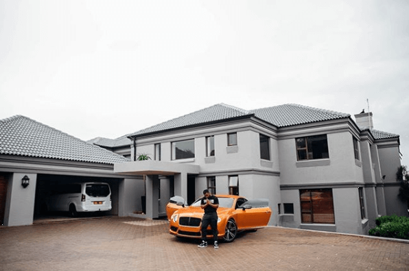 South African Celebrity Homes Cassper Nyovest Big House