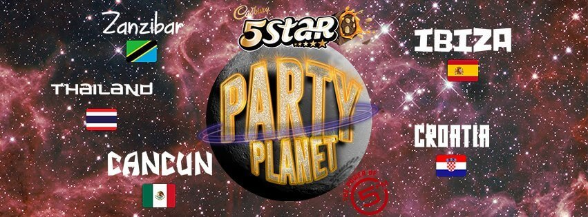 Cadbury 5Star Party Planet powered by 5FM