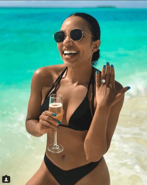 Amanda du-Pont gets engaged