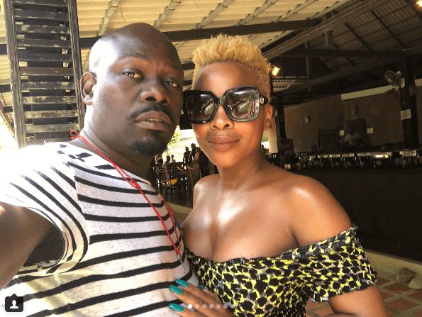 Masechaba Ndlovu and her husband Vuzi