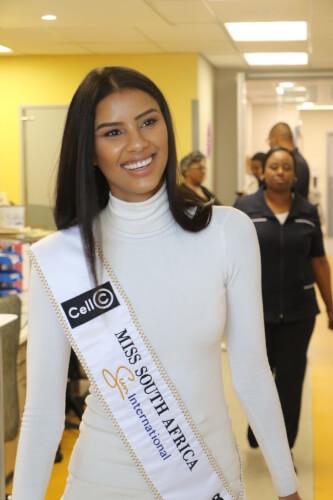 Miss SA Tamaryn Green