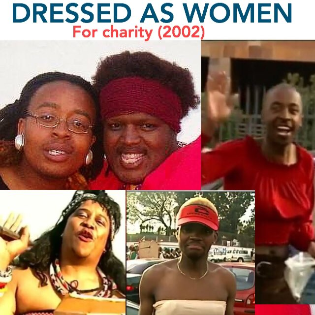 DJ Cleo dressed as a woman