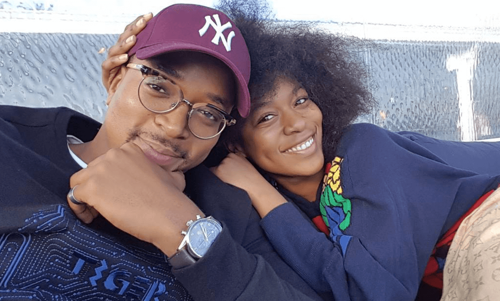 Nomzamo Mbatha and Maps Maponyane