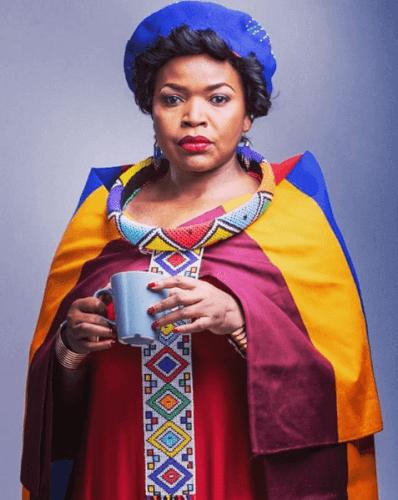 Veteran actress Florence Masebe