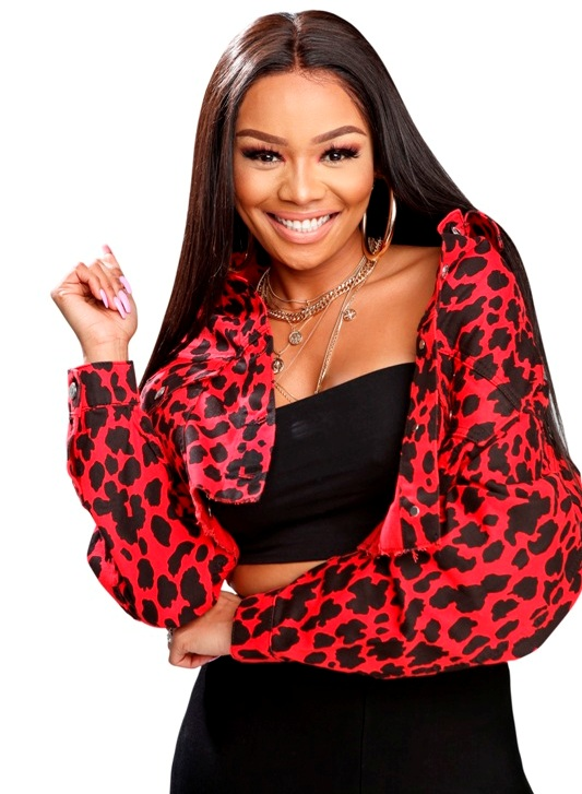 Bonang Matheba Tropika Smoooth Fan