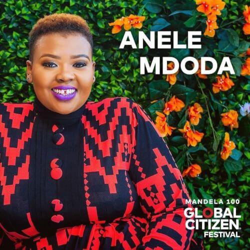 Global Citizen Festival host Anele Mdoda