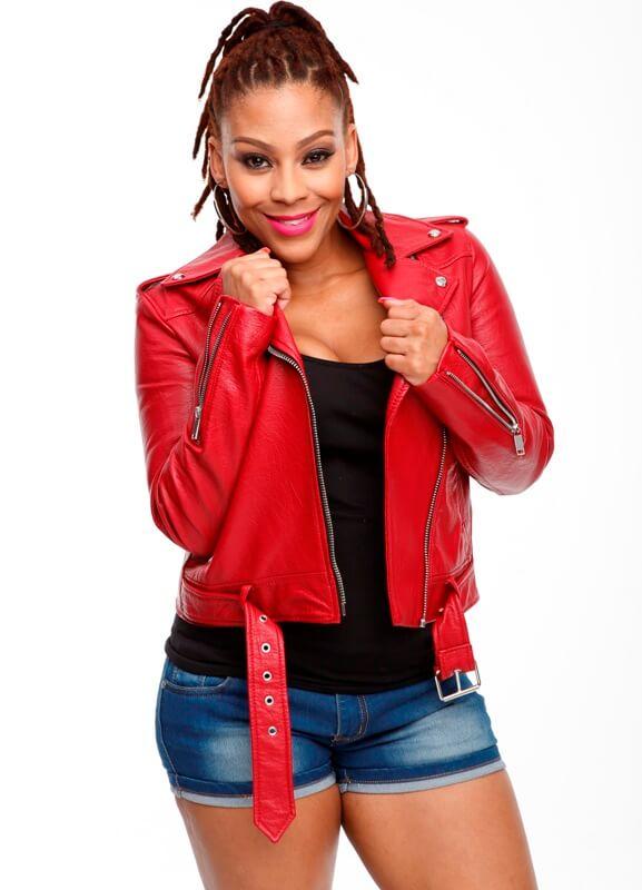 Letoya Makhene On Tropika Smoooth Fan
