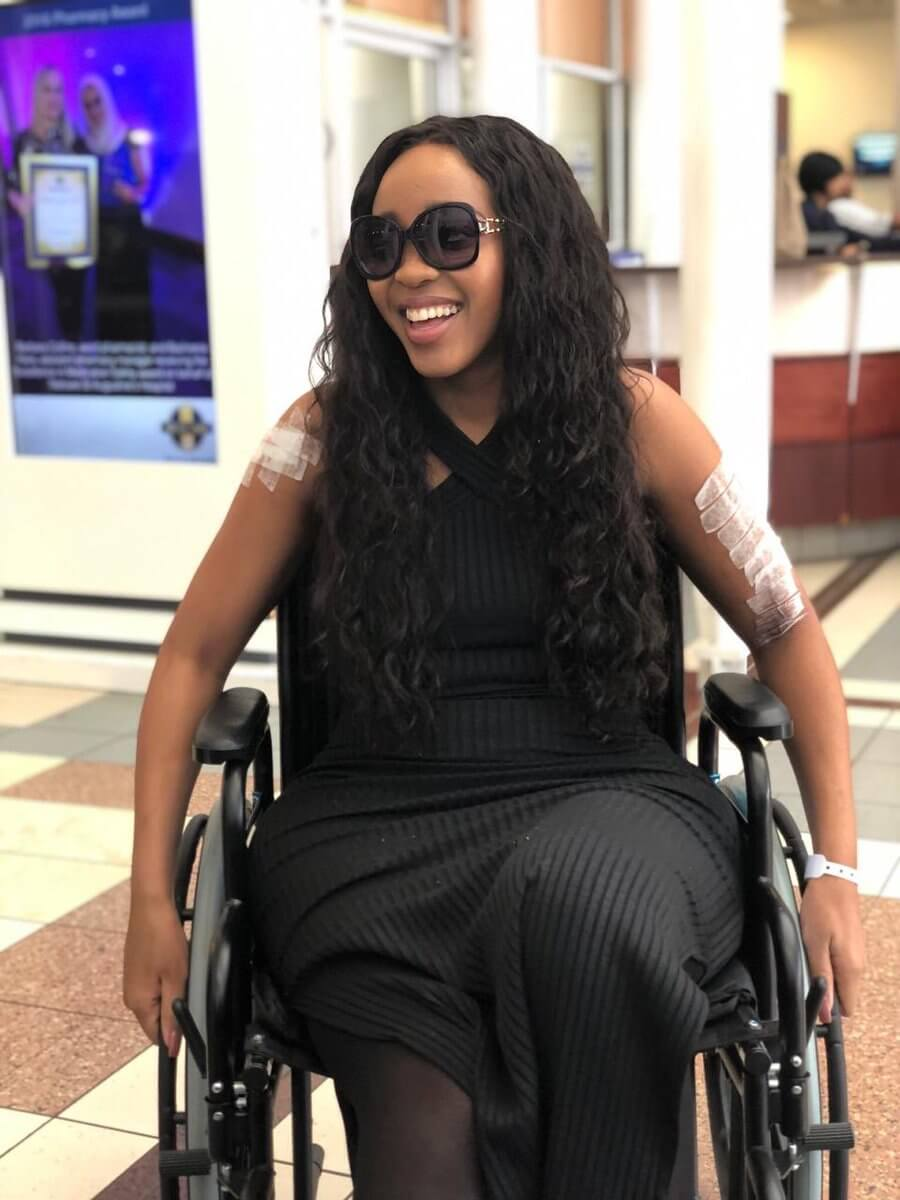 Sbahe Mpisane discharged from hospital