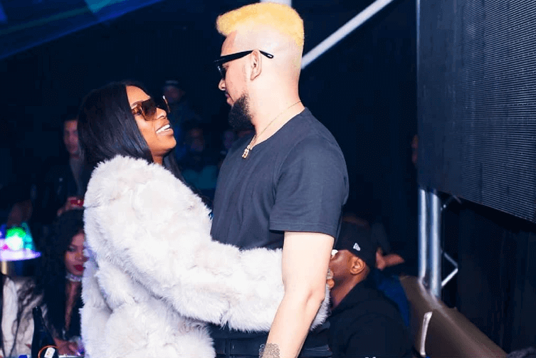 AKA and DJ Zinhle spotted in cape town