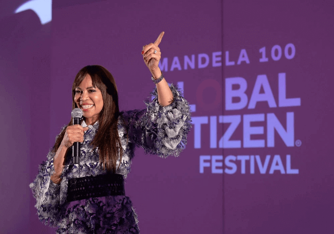 Global Citizen Festival Dr. Precious Moloi Motsepe