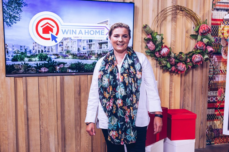 Win a home winner Yvette Blignaut
