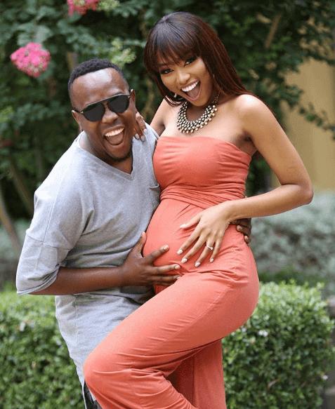 Khaya Mthethwa and his wife Ntandoyenkosi
