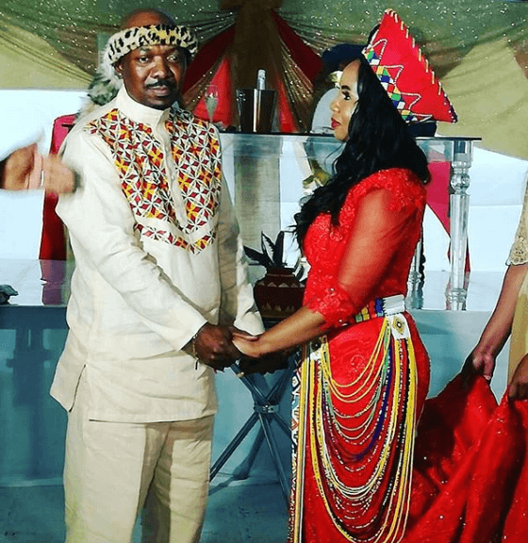 Menzi Ngubane and Sikelelwa Sishuba