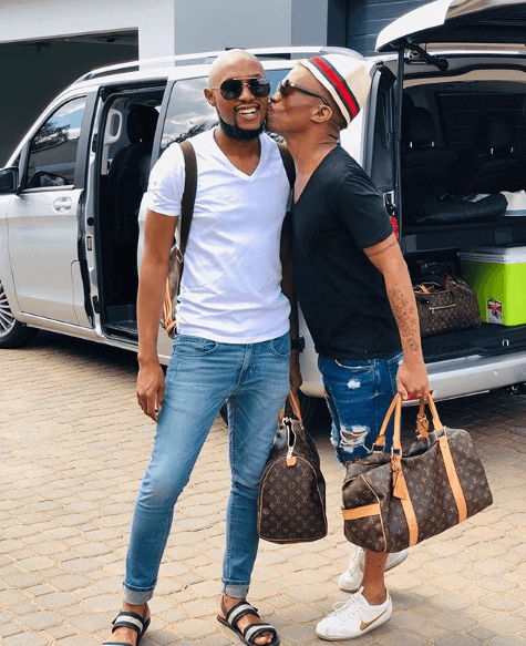 Somizi and Mohale's wedding