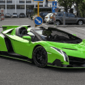 Expensive cars LAMBORGHINI VENENO ROADSTER