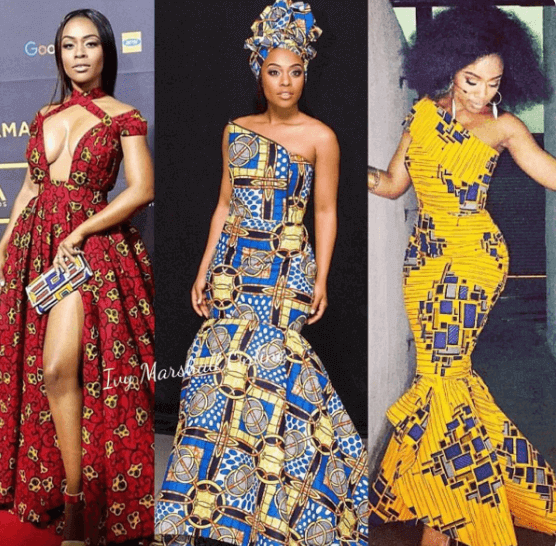 Nomzamo Mbatha South African traditional dresses and accessories