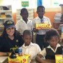 Leanne Manas at Siyabulela Primary School