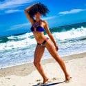Pearl Thusi Bikini body