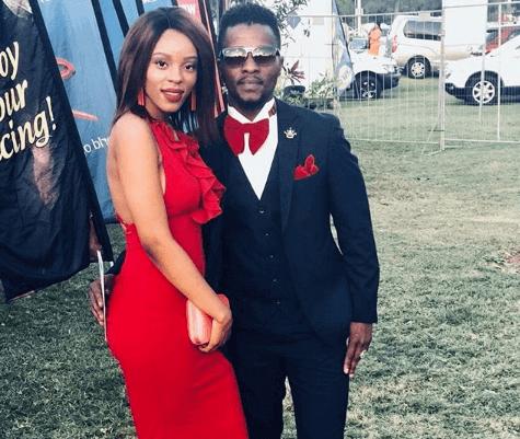 Isibaya Actor Abdul Khoza and his wife