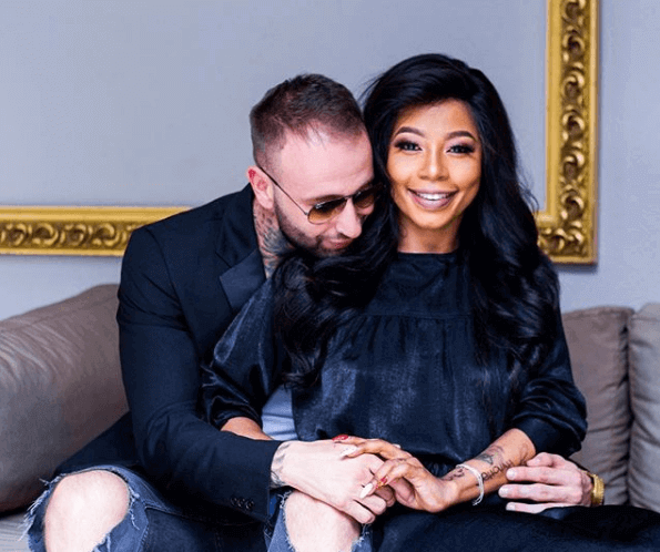 Kelly Khumalo and Chan Da Don married