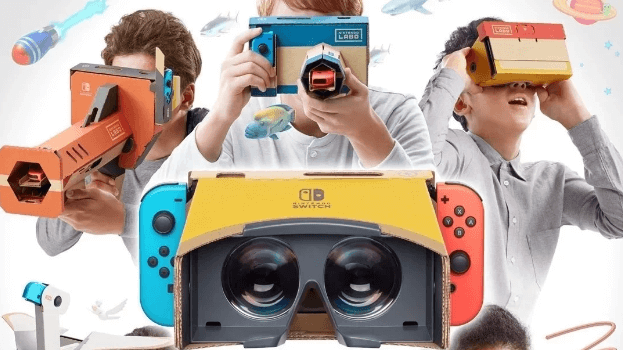 Nintendo Switch VR Will Support Mario And Zelda