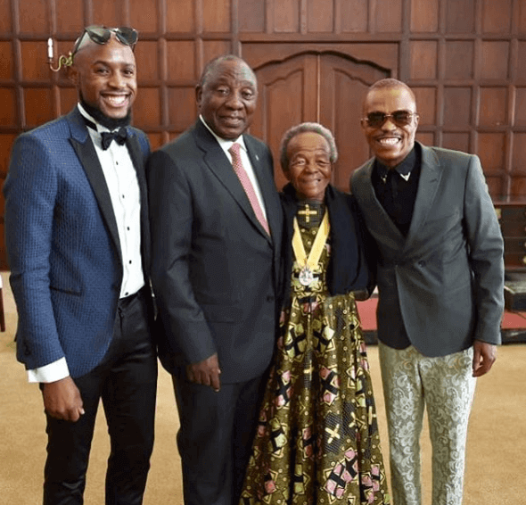 Somizi Mhlongo invites President Cyril Ramaphosa