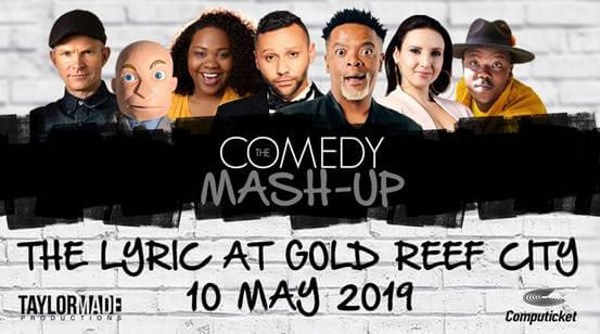 Comedy Mash Up hits the Lyric Theatre!