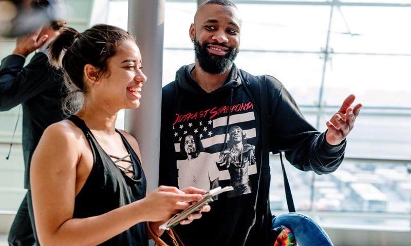 Budweiser MTV VJs Kim Jayde & Tshego Koke