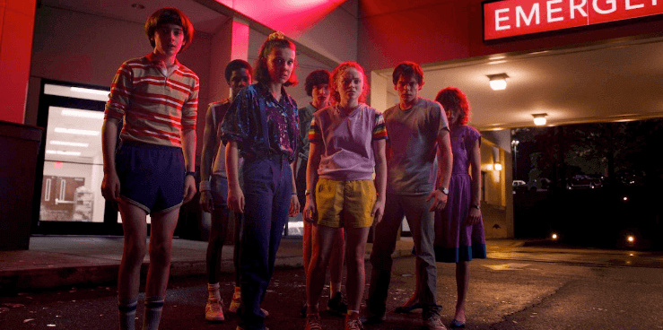 Stranger Things season 3 on Netflix