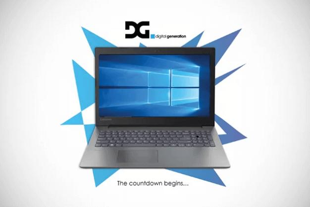 Digital Generation Windows 10 Upgrade