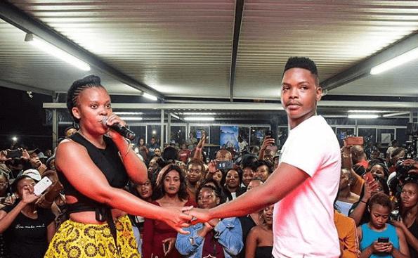 Ntobeko Linda and Zodwa Wabantu