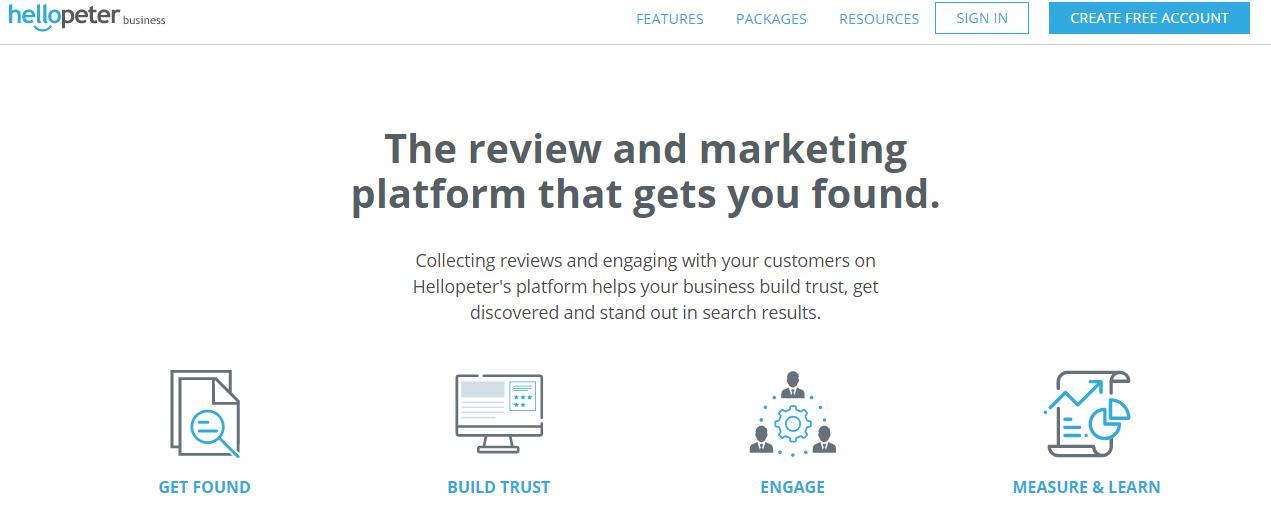 HelloPeter website Features