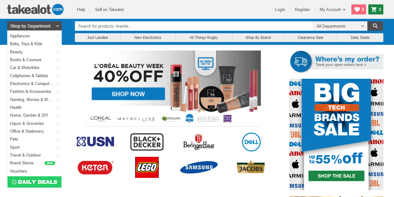 How Buying On Takealot.com Works