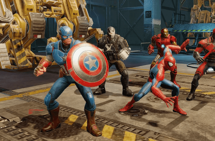 Marvel Games Super Hero Video Games